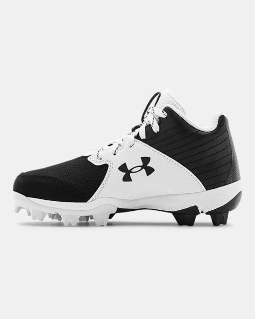 Boys' UA Leadoff Mid RM Jr. Baseball Cleats