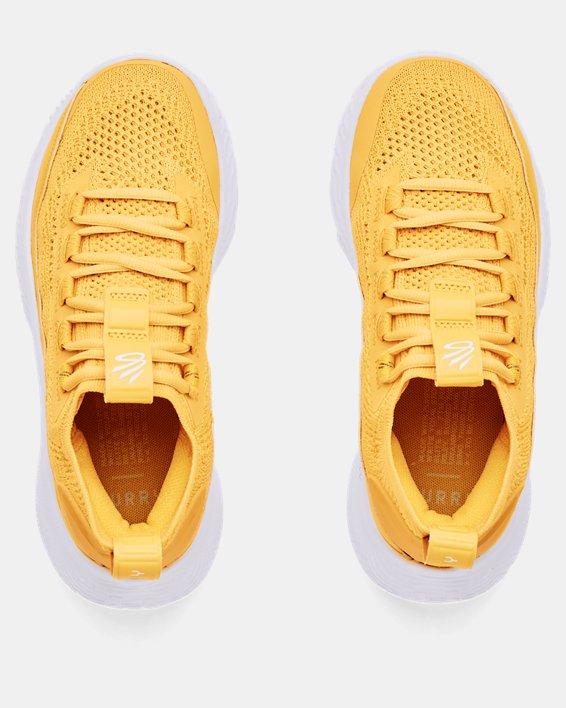 Zapatillas de baloncesto Grade School Curry 8, Yellow, pdpMainDesktop image number 2