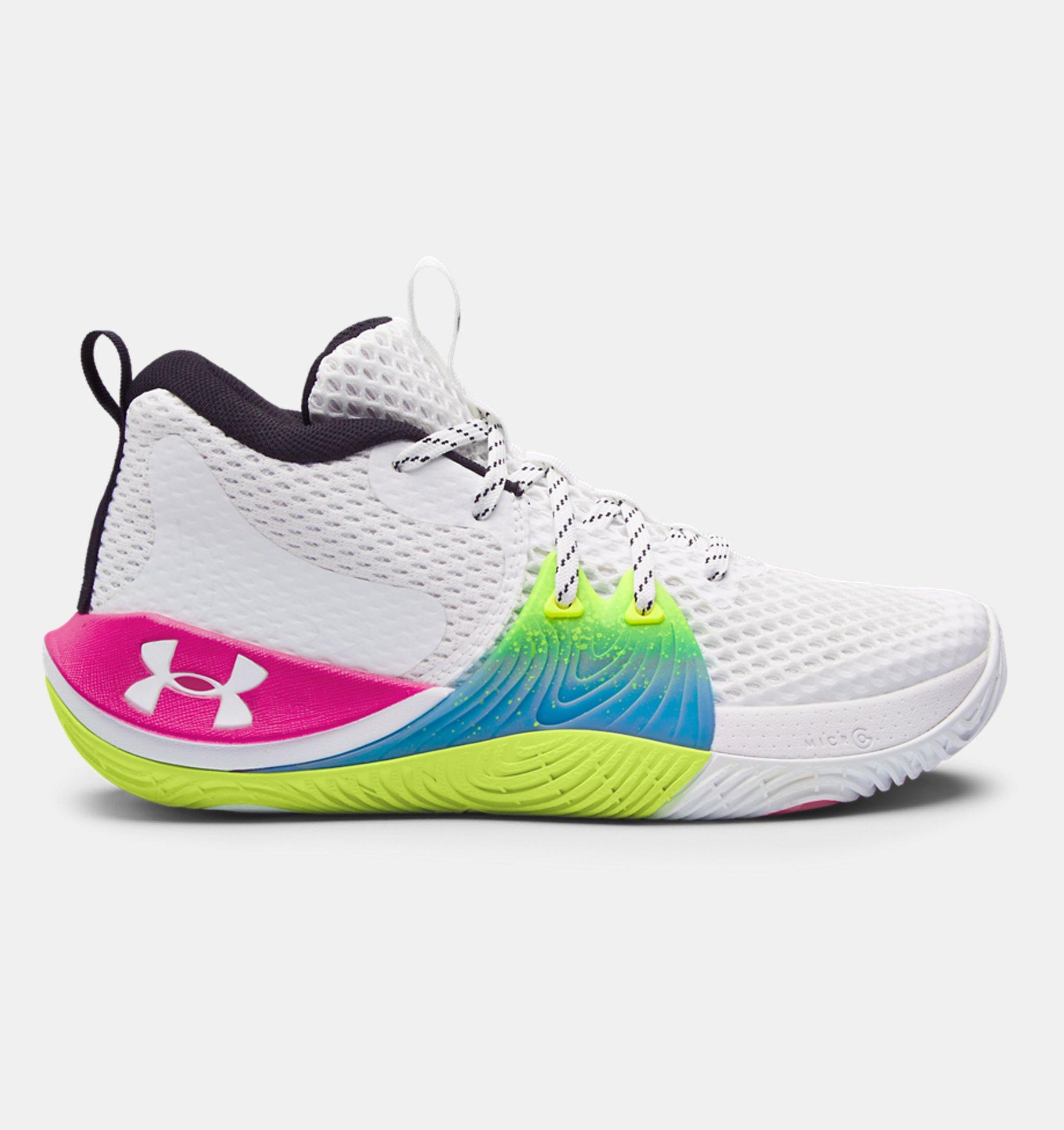 Underarmour Grade School UA Embiid One Basketball Shoes