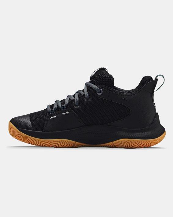 Zapatillas de baloncesto Grade School UA 3Z5, Black, pdpMainDesktop image number 1