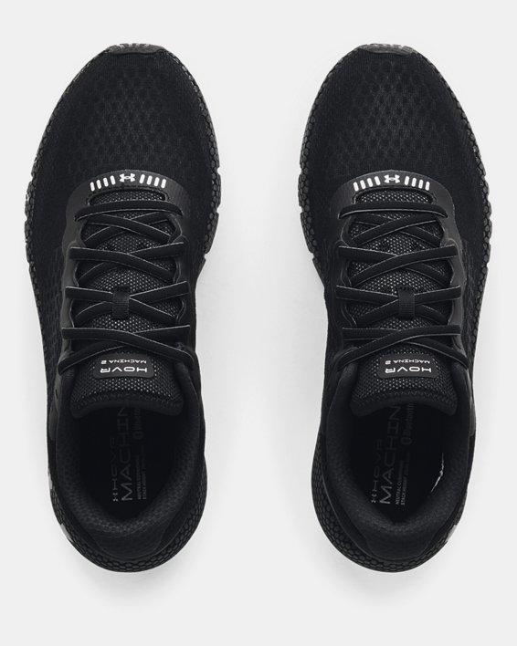 Men's UA HOVR™ Machina 2 Running Shoes, Black, pdpMainDesktop image number 2