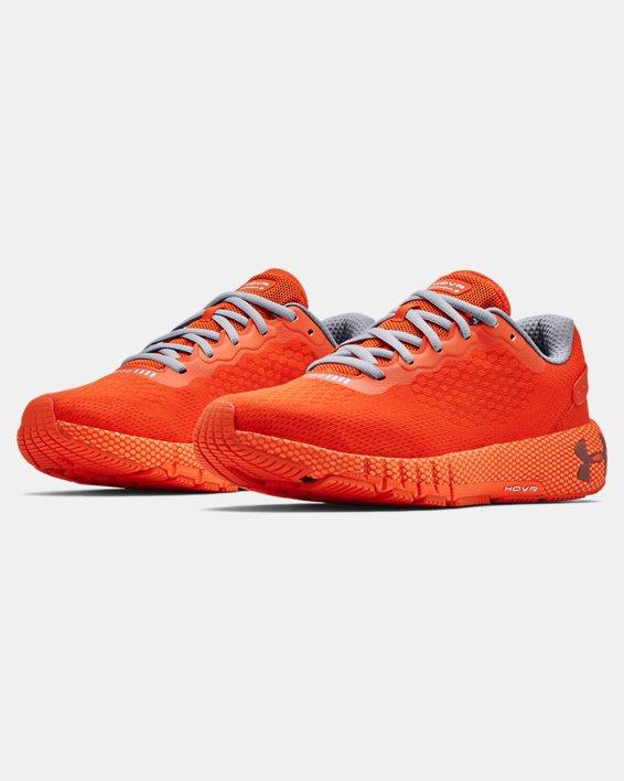 Men's UA HOVR™ Machina 2 Running Shoes, Orange, pdpMainDesktop image number 3