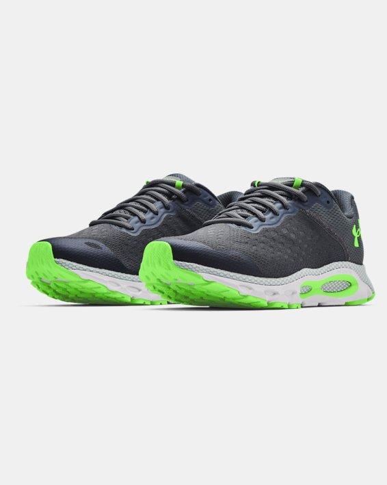Zapatillas de running UA HOVR™ Infinite 3 para hombre, Gray, pdpMainDesktop image number 3