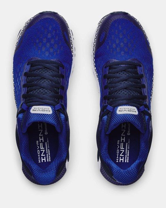 Herren UA HOVR™ Infinite 3 Laufschuhe, Blue, pdpMainDesktop image number 2