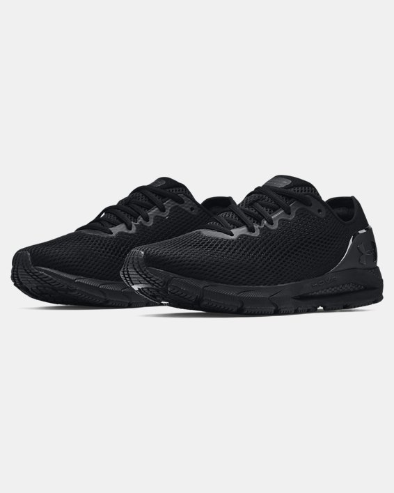Men's UA HOVR™ Sonic 4 Running Shoes, Black, pdpMainDesktop image number 3