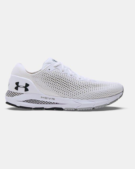 Men's UA HOVR™ Sonic 4 Running Shoes, White, pdpMainDesktop image number 0