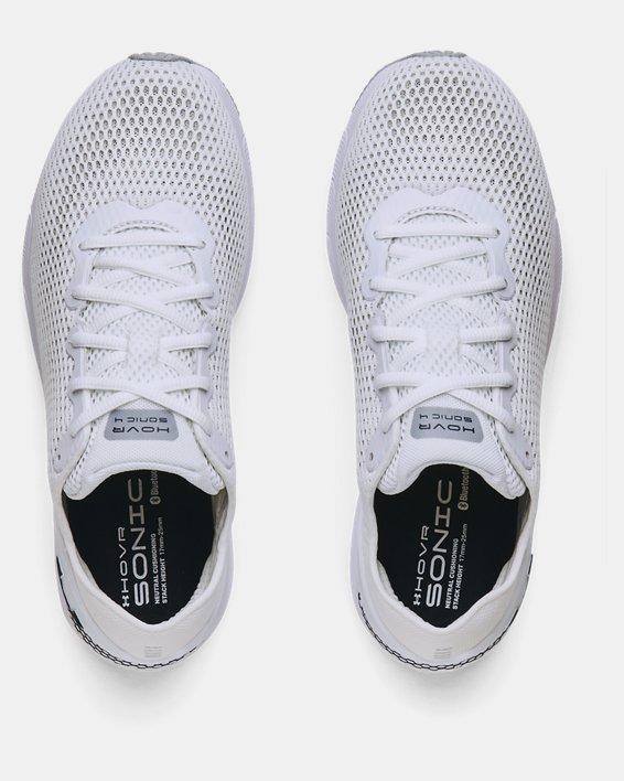 Men's UA HOVR™ Sonic 4 Running Shoes, White, pdpMainDesktop image number 2