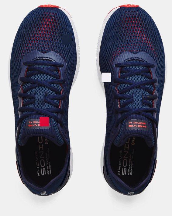 Men's UA HOVR™ Sonic 4 Running Shoes, Navy, pdpMainDesktop image number 2