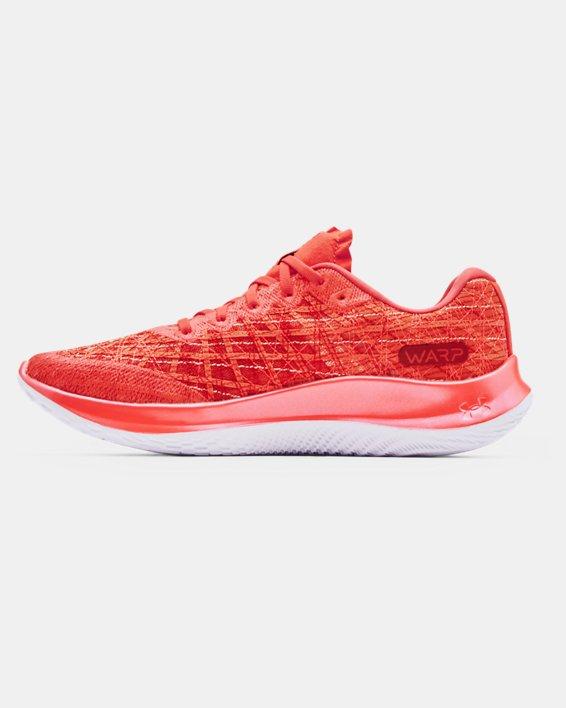 Men's UA Flow Velociti Wind Running Shoes, Red, pdpMainDesktop image number 1