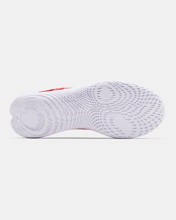 Men's UA Flow Velociti Wind Running Shoes, Red, pdpMainDesktop image number 4