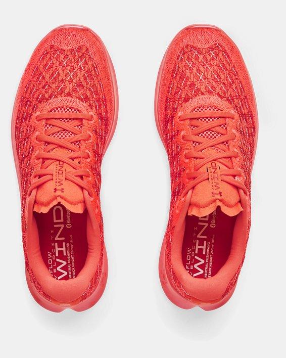 Men's UA Flow Velociti Wind Running Shoes, Red, pdpMainDesktop image number 2
