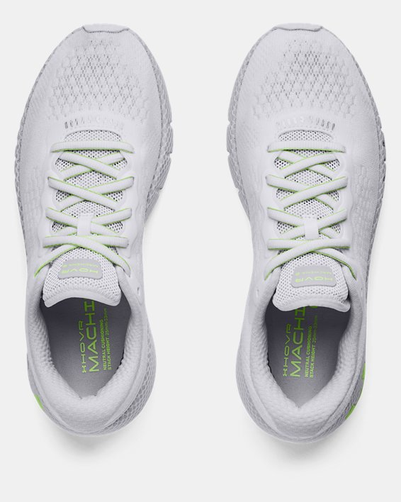 Women's UA HOVR™ Machina 2 Running Shoes, White, pdpMainDesktop image number 2