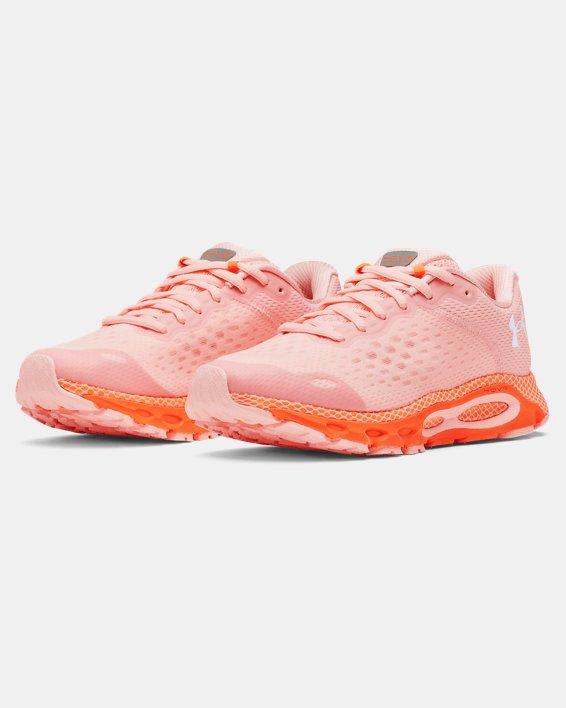 Women's UA HOVR™ Infinite 3 Running Shoes, Pink, pdpMainDesktop image number 3