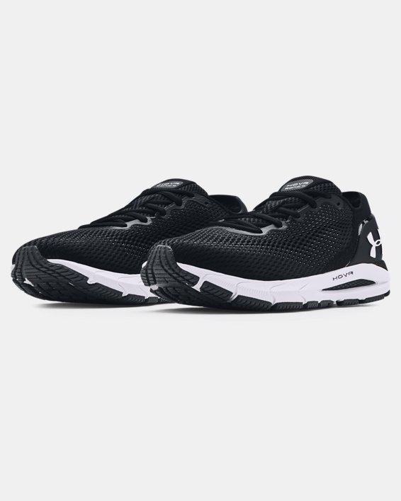 Women's UA HOVR™ Sonic 4 Running Shoes, Black, pdpMainDesktop image number 3