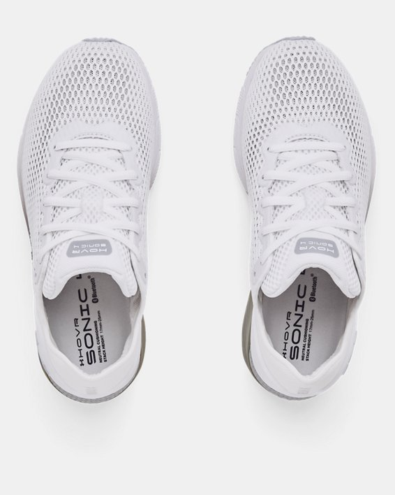 Women's UA HOVR™ Sonic 4 Running Shoes, White, pdpMainDesktop image number 2