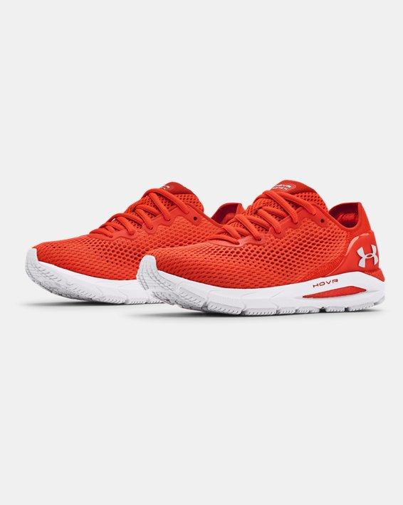 Women's UA HOVR™ Sonic 4 Running Shoes, Orange, pdpMainDesktop image number 3