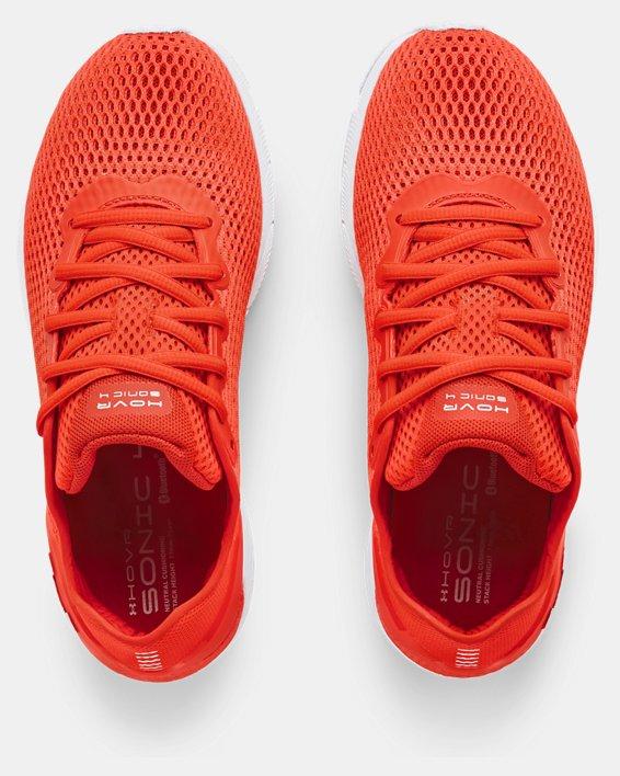 Women's UA HOVR™ Sonic 4 Running Shoes, Orange, pdpMainDesktop image number 2