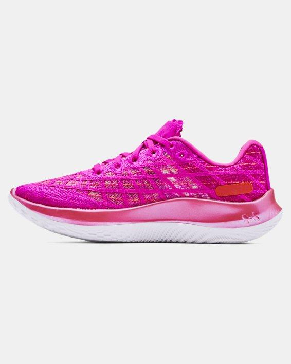 Women's UA Flow Velociti Wind Running Shoes, Pink, pdpMainDesktop image number 1