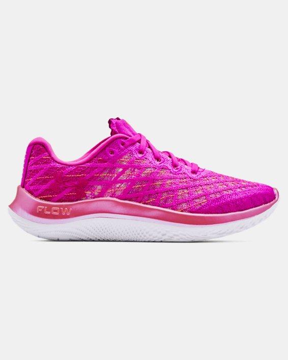 Women's UA Flow Velociti Wind Running Shoes, Pink, pdpMainDesktop image number 0