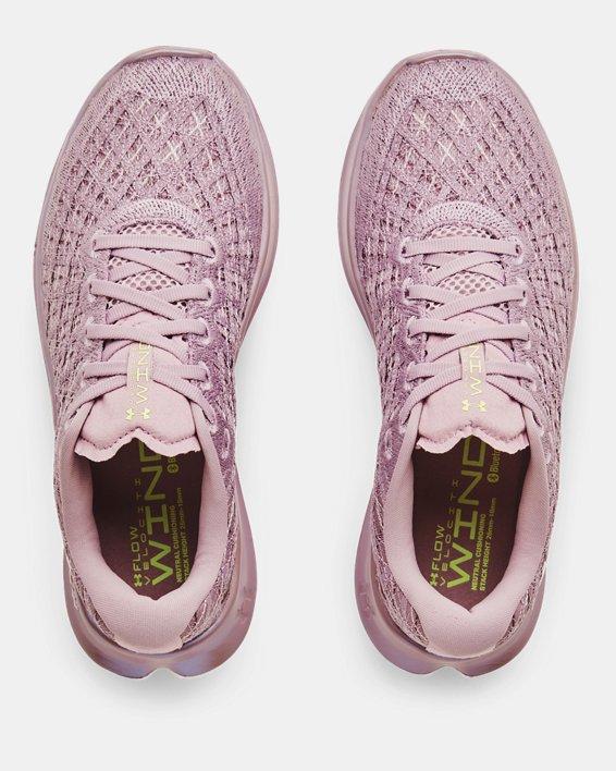 Women's UA Flow Velociti Wind Running Shoes, Pink, pdpMainDesktop image number 2