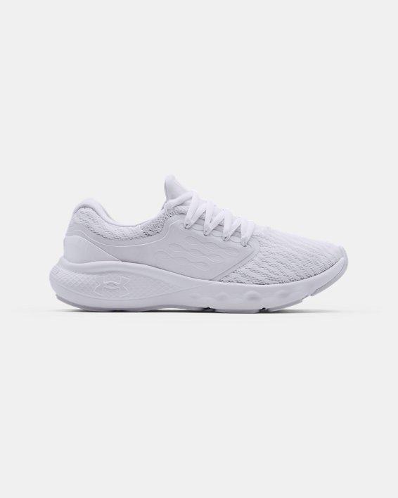 Women's UA Charged Vantage Running Shoes, White, pdpMainDesktop image number 0