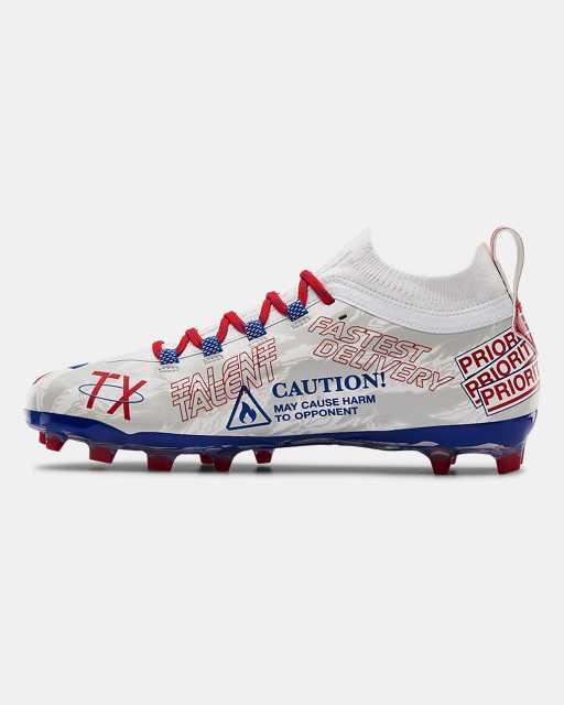Men's UA Spotlight Lux LE TX Camo Football Cleats