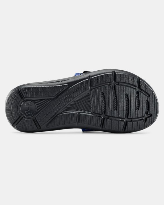 Boys' UA Ignite STRK DPM VI Slides, Black, pdpMainDesktop image number 2
