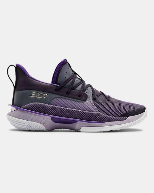 Unisex UA Curry 7 'BAMAZING' Basketball Shoes