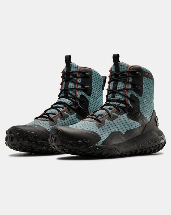 Unisex UA HOVR™ Dawn WP GRID Boots, Blue, pdpMainDesktop image number 3