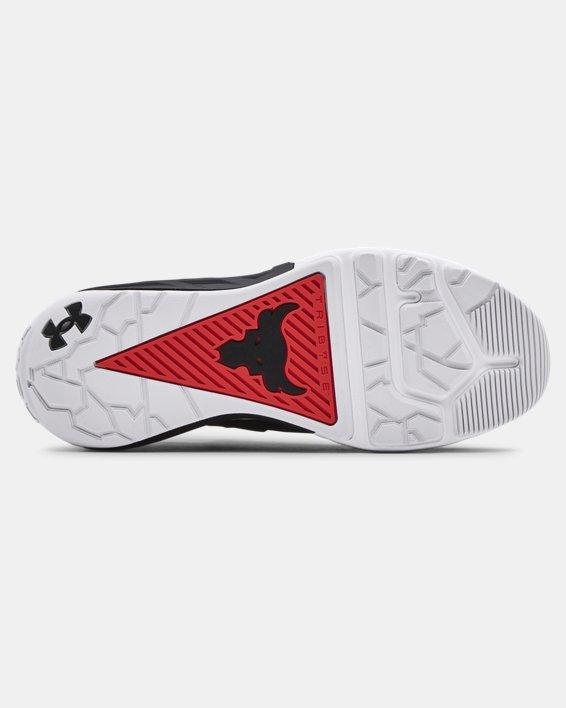 Men's UA Project Rock 4 Training Shoes, Red, pdpMainDesktop image number 4