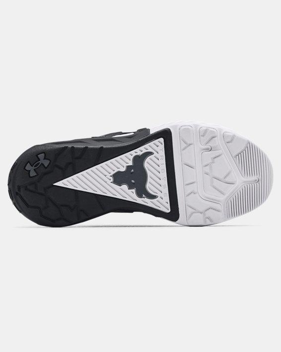 Grade School UA Project Rock 4 Training Shoes, Black, pdpMainDesktop image number 4