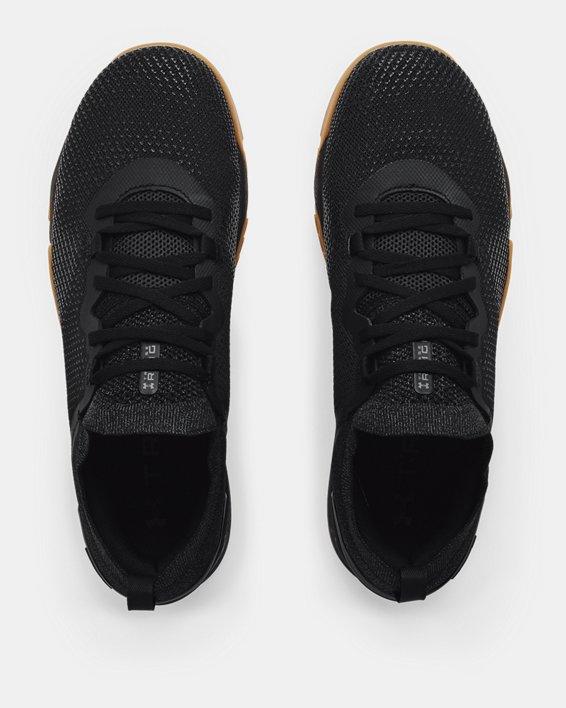 Men's UA TriBase™ Reign 3 Training Shoes, Black, pdpMainDesktop image number 2