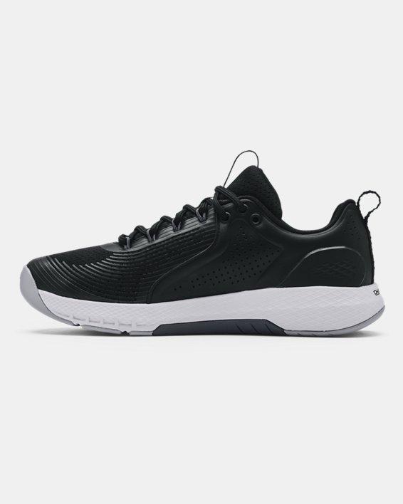 Men's UA Charged Commit 3 Training Shoes, Black, pdpMainDesktop image number 1