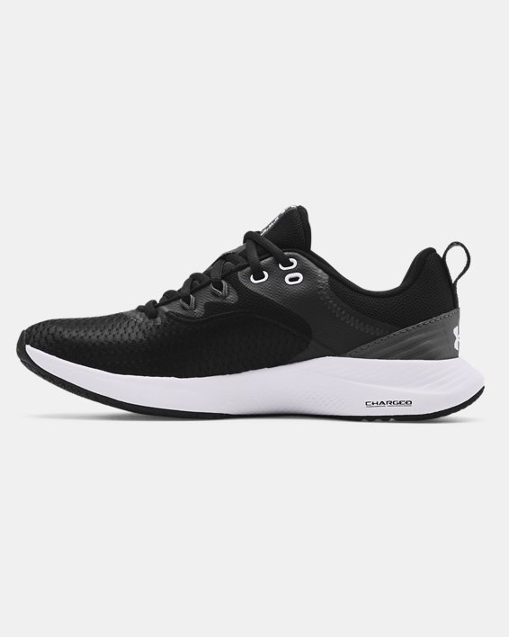 Women's UA Charged Breathe 3 Training Shoes, Black, pdpMainDesktop image number 1