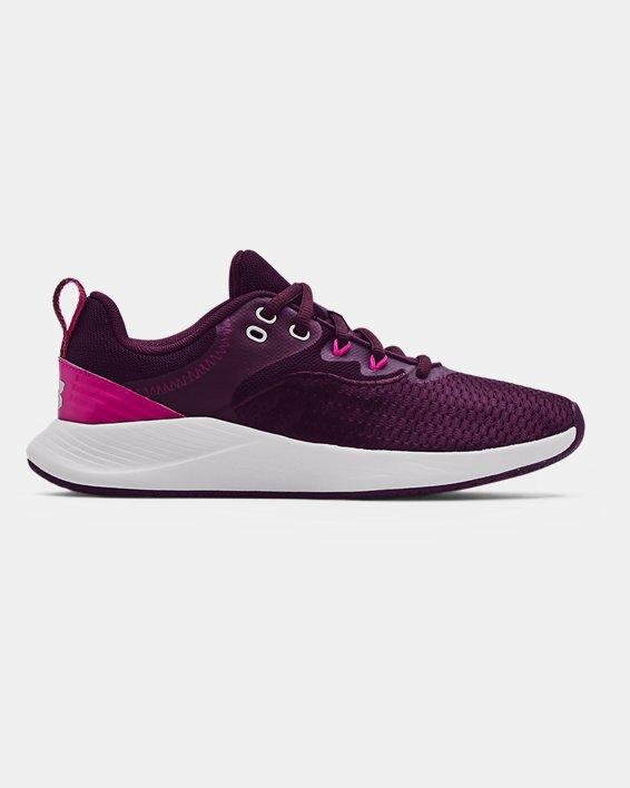 Women's UA Charged Breathe 3 Training Shoes, Purple, pdpMainDesktop image number 0