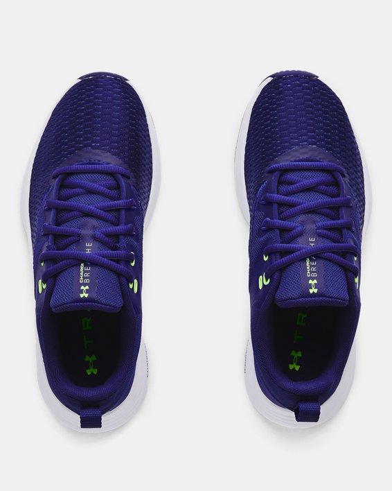 Women's UA Charged Breathe 3 Training Shoes, Purple, pdpMainDesktop image number 2