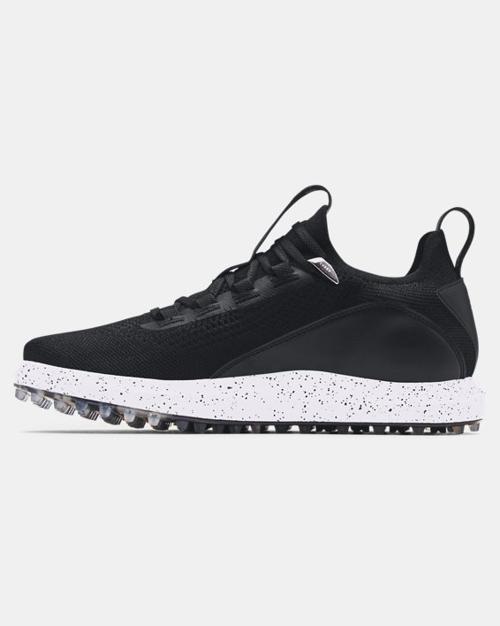 Men's Curry 8 Spikeless Golf Shoes, Black, pdpMainDesktop image number 1