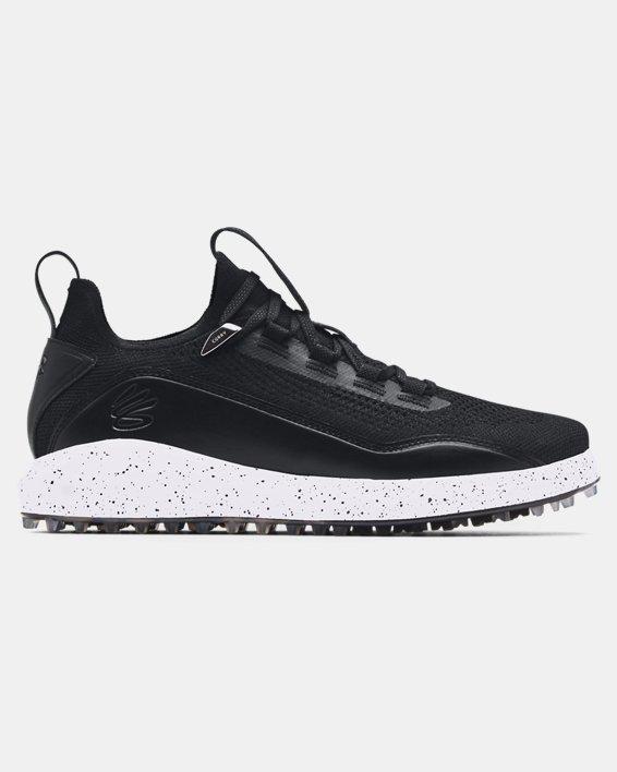 Men's Curry 8 Spikeless Golf Shoes, Black, pdpMainDesktop image number 0