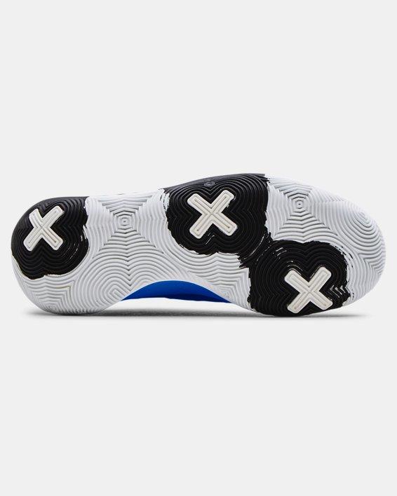 Unisex UA Spawn 3 Basketball Shoes, Black, pdpMainDesktop image number 4