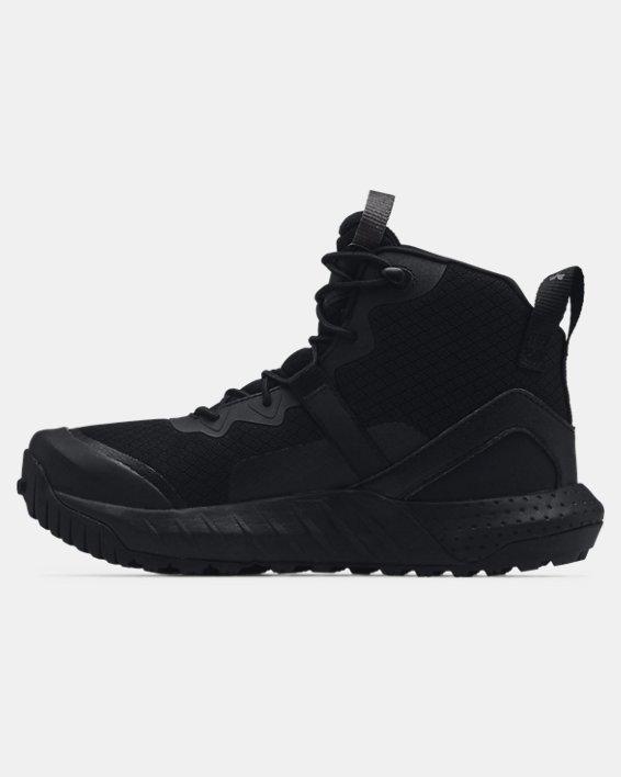 Women's UA Micro G® Valsetz Mid Tactical Boots, Black, pdpMainDesktop image number 1