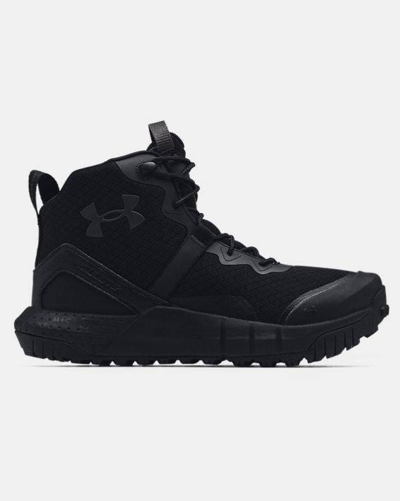 Women's UA Micro G® Valsetz Mid Tactical Boots, Black, pdpMainDesktop image number 0