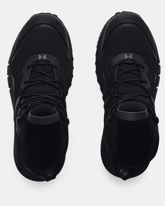 Women's UA Micro G® Valsetz Mid Tactical Boots, Black, pdpMainDesktop image number 2