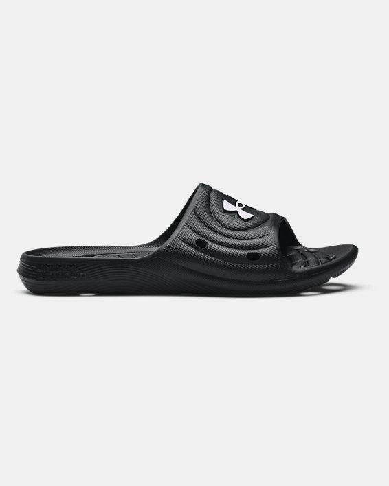 Men's UA Locker IV Slides, Black, pdpMainDesktop image number 0
