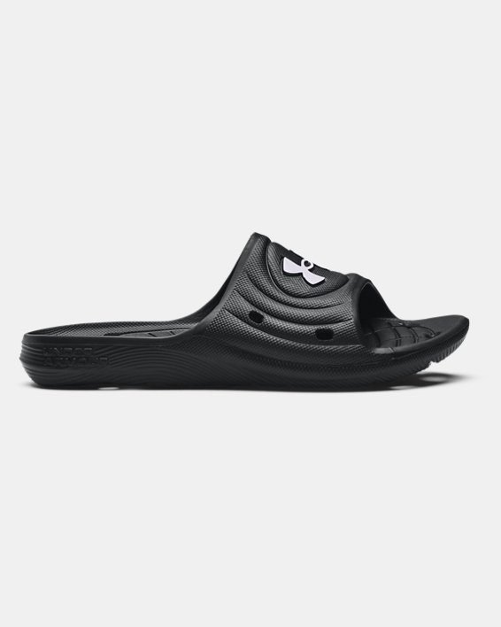 Boys' UA Locker IV Slides, Black, pdpMainDesktop image number 0