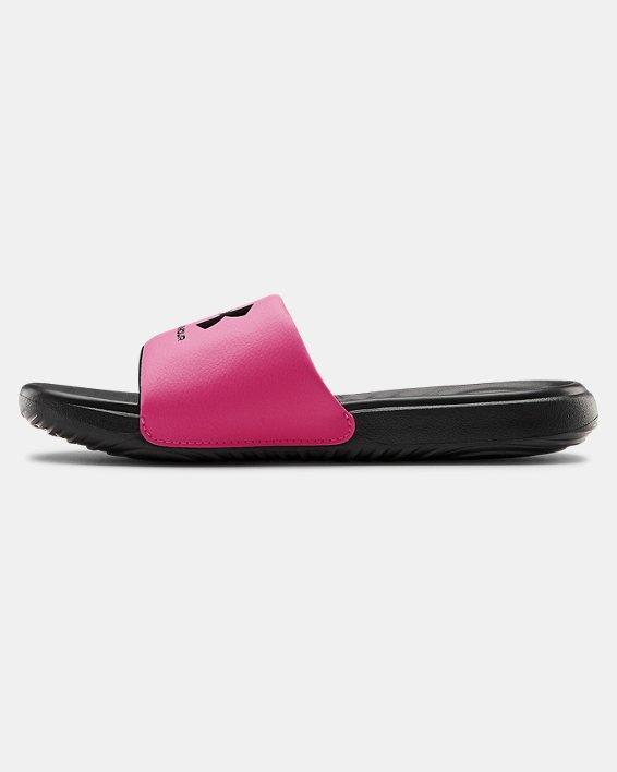 Girls' UA Ansa Fixed Slides, Black, pdpMainDesktop image number 1