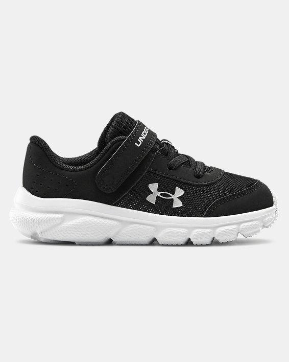 Boys' Infant UA Assert 8 Running Shoes, Black, pdpMainDesktop image number 0