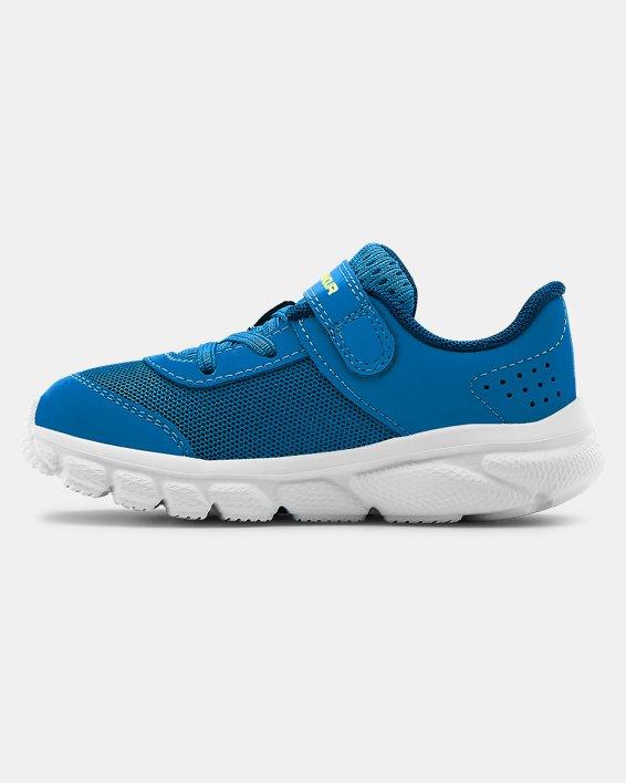 Boys' Infant UA Assert 8 Running Shoes, Blue, pdpMainDesktop image number 1