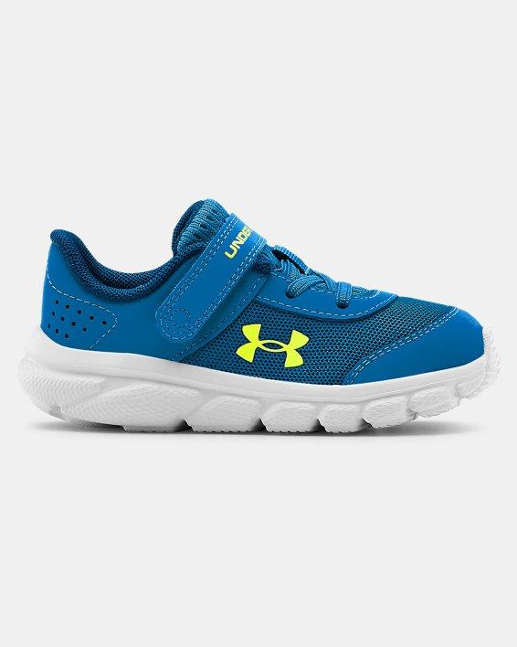 Boys' Infant UA Assert 8 Running Shoes, Blue, pdpMainDesktop image number 0