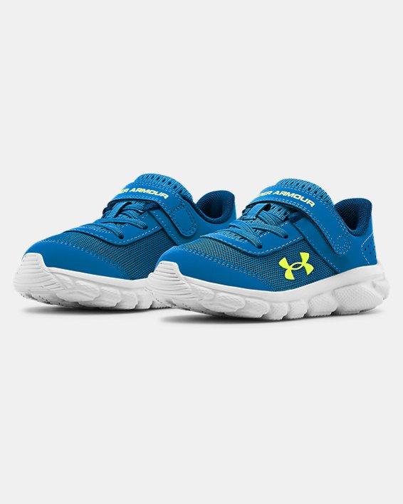 Boys' Infant UA Assert 8 Running Shoes, Blue, pdpMainDesktop image number 4