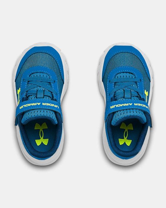 Boys' Infant UA Assert 8 Running Shoes, Blue, pdpMainDesktop image number 3